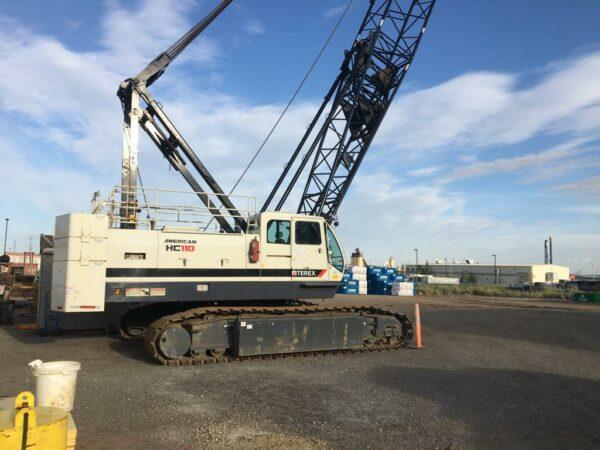 Terex 110 Crane - Drill Hub Leading Dealer in New & Used