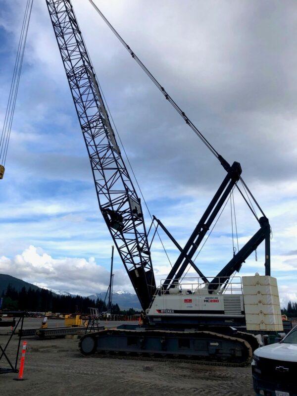 Terex 110 Crane – Terex HC230 - Drill Hub Leading Dealer in New & Used
